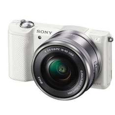 Sony A5000 Compact System Camera in White + 16-50mm Lens Jessops - £200