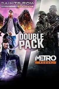SAINTS ROW / METRO BUNDLE XBOX STORE £8 WITH GOLD £12 WITHOUT