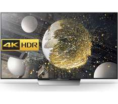Sony KD55XD9305BU Black - 55inch 4K Ultra HD TV, 3D, Smart, LED, Freeview HD, WiFi, 4x HDMI Ports at CoOp Electrical for £1199.99