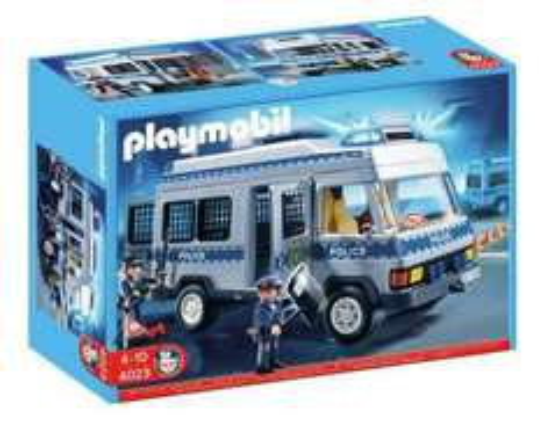 Playmobil 4023 Polica Van at Argos for £11.99