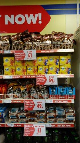 Butterkist gingerbread popcorn 3 for £1 instore @ heron foods
