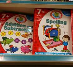 Maths and spelling key stage 2 activity books £1 @ Poundland