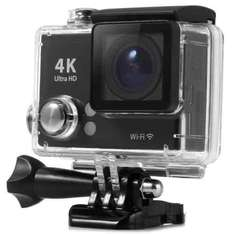 TecPlus (Tec+) 4K Wi-Fi Waterproof Action Camera with Accessories Black at Ebay/Vodafone for £49.99