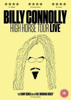 Billy Connolly High Horse Tour DVD reduced to £4.99 at Amazon (Prime or add £1.99)