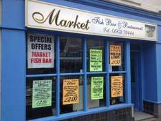 The Market Fish Bar Wolverhampton free meal xmas day/lunch