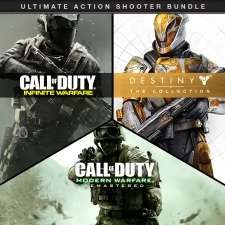 Call of Duty®: IW Legacy (Infinite Warfare+Modern Warfare Remastered) + Destiny - The Collection (including Rise of Iron) Bundle PSN STORE £64.99