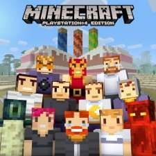 Minecraft 3rd Birthday skin pack on ps3/ps4 + vita free