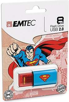 Superman USB 8GB £2.99 Delivered from mymemory.co.uk