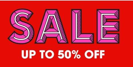 Selfridges sale! upto 50% off +8% topcashback