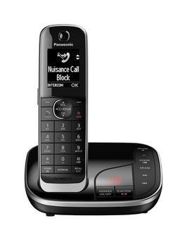 Panasonic KX-TGJ320EB Single Cordless Telephone with Answering Machine - Black £39.99 @ Very