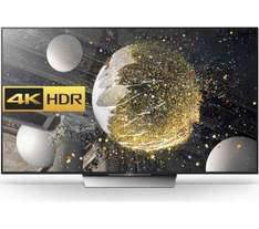 "SONY BRAVIA KD65XD8599BU 65"" 4K-HDR SMART-Android TV XR-1000Hz (BLACK) £1299 - currys"