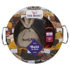 Indian Balti Dish Gift Set £6 @ Tesco [Included are a 45ml bottle of chilli flavoured oil, bag of Balti mix and a Balti dish] free c+c