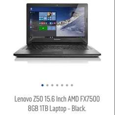 Lenovo z50 laptop 15.6 full hd 1tb £249.99 @ Argos