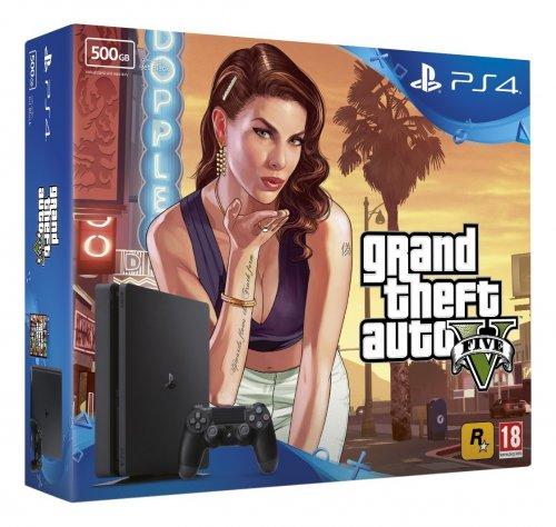 Sony PS4 Slim 500GB + GTA 5 (Amazon) £199.99