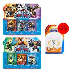 2 x Triple Pack New Activision Skylanders Console Accessories Bundle + Free Gift