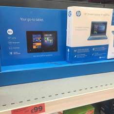 HP Stream Laptop 14-ax001na in-store at Sainsbury's for £99