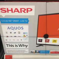 48 inch Smart LED TV instore at Sainsbury's for £250
