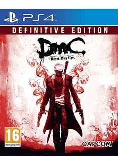 Devil May Cry: Definitive Edition PS4  £10.79  mymemory with code