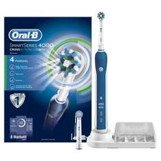Oral-B Smart Series 4000 Cross Action Electric Rechargeable Toothbrush Powered by Braun £39.99 @ Amazon