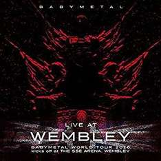 Babymetal - Live At Wembley on CD - £2.99 Prime or £4.98 non prime @ Amazon