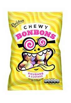 Bristows Rhubarb and Custard Chewy Bonbons 170 g (Pack of 12) £3.05 Prime or £7.04 non prime temporarily out of stock @ Amazon