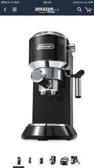DeLonghi EC680 Dedica Coffee Machine HALF PRICE £99.99 @ Amazon (Was £199)