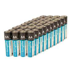 £14.99 Maplin Extra Long Life Alkaline 100 AA Batteries Dispatched from and sold by Maplin_Webdeals. @ Amazon marketplace