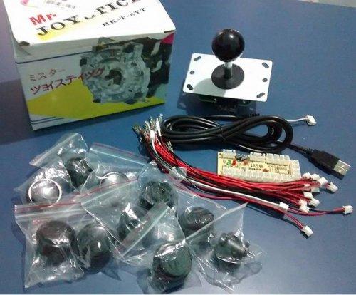 Arcade parts set - knobs,joystick and controller et al - £11.32 delivered @ Banggood
