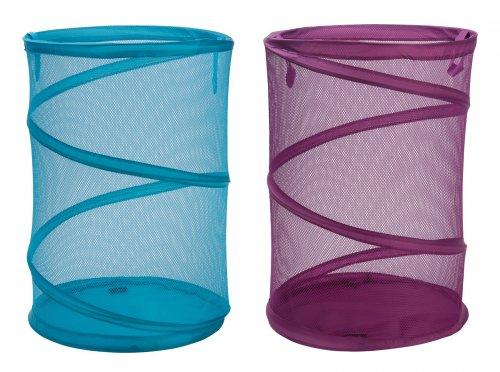 ColourMatch Laundry Basket - Lagoon or Purple Fiz for £2.99 at Argos