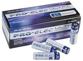 40 pack AA Alkaline Batteries Pro Elec £5.99 @ CPC free del on £6.01 spend