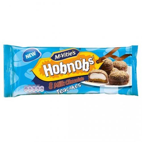 McVities Hobnobs Chocolate teacakes (packs of 8) 79p at home bargains
