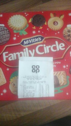CO-OP  mc vitie's family circle £1.25