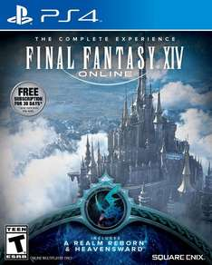 [PS4] Final Fantasy XIV Online Complete Experience Download (Includes Heavensward) - £8.14 - Amazon.com