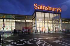 Gifts up to 75% off Sainsbury's instore - Hempstead