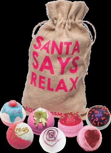 Bomb cosmetics sale. 50% off Christmas bag