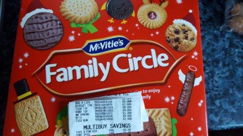 Mcvities family circle £1 at Asda