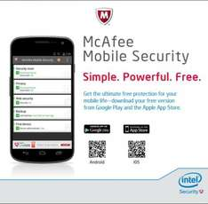 McAfee  mobile security Free on Android and IOS