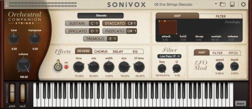 VST SONiVOX Orchestral Companion - Strings PC/Mac £1 @ Pluginboutique
