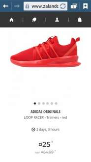 Adidas loop racer red only at this price £28.95 @zalando lounge