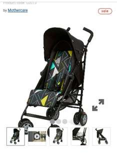 mothercare-nanu-stroller for £34.99