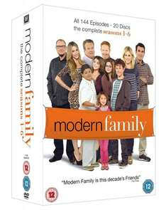 Modern Family Boxset Seasons 1-6 at Amazon for £18.40 (Prime or add £1.99)