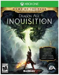 Dragon Age Inquisition Game Of The Year edition download (Xbox One) £7.50 for Gold subscribers @ Microsoft Store