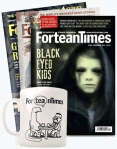3 Issues of Fortean Times Magazine for £1.00 & FREE MUG .
