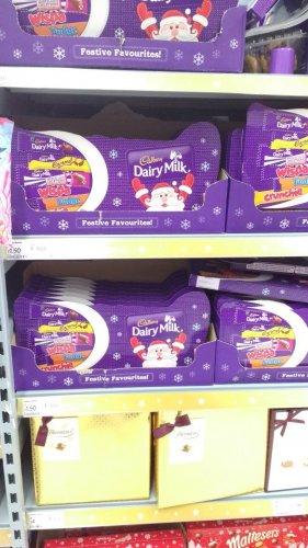 Cadburys Large 208g selection boxes  £1.50 instore @ asda small heath