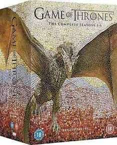 Game of Thrones Seasons 1-6 DVD £52.99 @ Ebay ( sold by bestbargain21 )