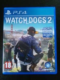 watch dogs 2 PS4  £30 instore @ asda