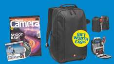 Free Manfrotto DSLR camera back pack with £43 subscription of Digital Camera Magazine + 13.2% Quidco @ My Favourite Magazines