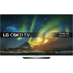 "LG OLED65B6V 65"" £2799 @ ao.com Possible 11% cashback TCB making it: £2494"