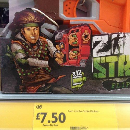 Nerf zombie strike flipfury £7.50 instore at morrisons