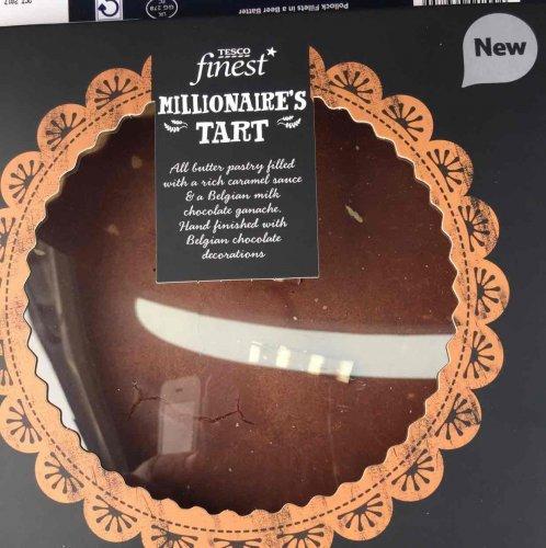 Tesco finest millionaires dirty tart 75p from £3 (family size)